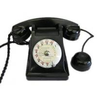 Quality Culture French Black Bakelite Phone wholesale