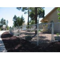 china competitive price galvanized chain link fence with USA qualit