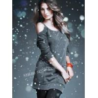 Quality Ladies' Women's round neck cotton T-shirt wholesale