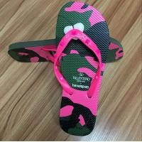 Quality High quality natural rubber Flip flop with rubber strap wholesale