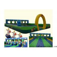 Quality sports game inflatable horse racing wholesale