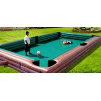 Quality sports game inflatable human billiards,CUZU balls game wholesale