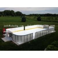 Quality street hockey protection street hockey barrier dek hockey protection wholesale