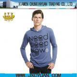 Quality Apparel spring men colored hoodies t shirt wholesale