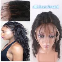 "Quality 13""*4"" Silk Base Frontal Closure With Hidden Knot Body Wave hair weave wholesale"