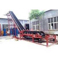 products Belt Conveyor With High Inclination Angle And Waved Guard Side