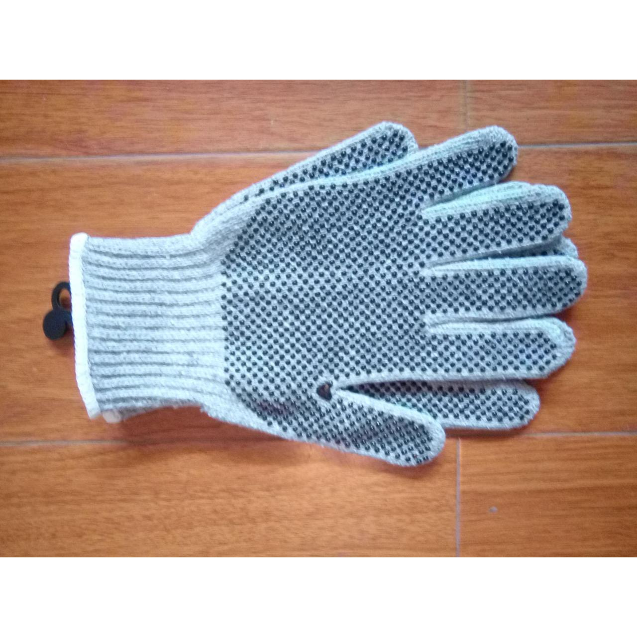 Quality Products name:Knitted gloves with PVC dot wholesale