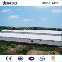 Structural Prefabricated Steel Buildings for Chicken Shed