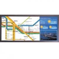 Stretched Bar Ultra-wide LCD Display for BUS/METRO/TRAIN advertising ce rohs fcc ul