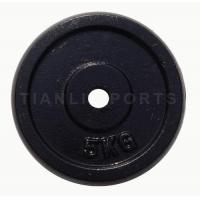 TL1001 Black Painting Regular Plate With Round Edge