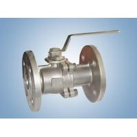 Quality fittings 2PC Flanged End Full Port wholesale