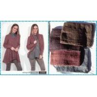 Simply Noelle knit convertible cardigan sweater & tunic Blush, coffee, raisin, agave Size S to XXL