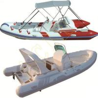 Quality PVC Hypalon Inflatable Rib Rubber Boat wholesale