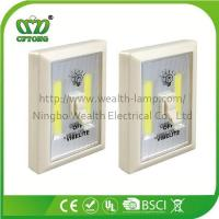 Quality Promotion Magnetic Velcro Plastic 6W COB LED Wall Switch Light with CE RoHS BSCI wholesale