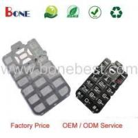 Quality 100% Silicon Rubber Keypad Custom Rubber Keypad Mobile Phone Parts Manufacturer wholesale