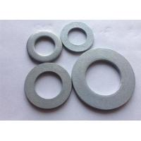 Quality Metric Carbon Steel Flat Washers , Industrial Round Plate Washer DIN 125 wholesale