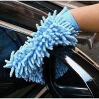 Automobile single surface cleaning gloves