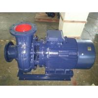 No clogged horizontal sewage pump