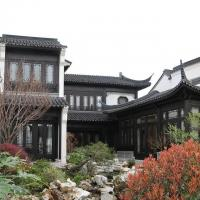Solid wood doors Chinese style solid wood doors and Windows