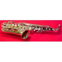 Quality New black nickel & gold dc pro boston series alto sax wholesale
