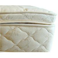Quality Beds and Bedding Natural Latex Mattress Topper Quilted with Organic Cotton and Wool wholesale