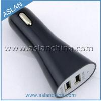 Quality Car Chargers Trumpet-Shaped 5V 3.1A Dual USB Car Charger (CC-033) wholesale