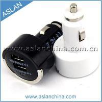 Quality Car Chargers 5V 3.1A Dual USB car charger with iron ring(CC-014) wholesale