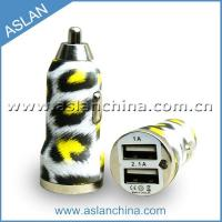 Quality Car Chargers 3.1A car charger with pattern(CC-029) wholesale