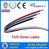 Quality China Tinned Copper Conductor XLPE Insulation & Sheath TUV Solar Cable 4mm2 wholesale