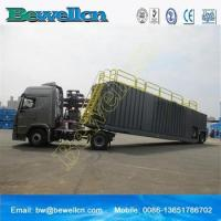 Quality 77m3frac tank with wheel for use in the oil industry wholesale