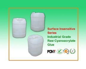 Cheap Surface Insenstive Ethyl Cyanoacrylate Raw Adhesive Solvent Free for sale