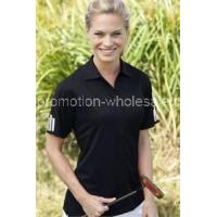 Quality Women's ClimaLite3-Stripes Cuff Polo wholesale