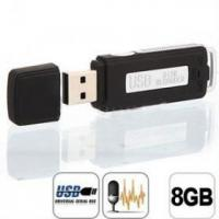 Quality Free Shipping 8GB USB Disk Digital Audio Voice Recorder(UR08B) wholesale