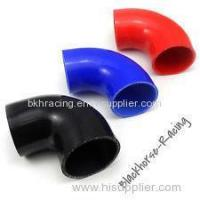 "Quality 4"" to 3"" Black 90 degree Reducer Elbows Silicone Hose 102mm to 76mm wholesale"