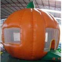 Quality Round orange Inflatable Outdoor Yard Party Tent For Trading Show wholesale