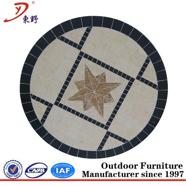 Cheap New design outdoor marble table top for sale