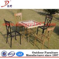 Quality Good price for outdoor square table set wholesale