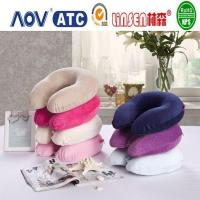 China Linsen health memory foam inflatable travel neck pillow on sale