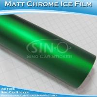 Matt Chrome Metallic Dark Green Car Body Vinyl Film