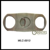 Quality Double Blade Stainless Steel Cigar Cutter wholesale