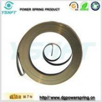 Quality electrical equipment flat wire spiral torsion springs for rewinder wholesale