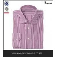 Quality Long Sleeve Stripes Formal Business Mens Dress Shirt Bulk wholesale