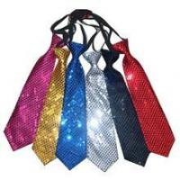Fashion Party Silver Sequin Tie