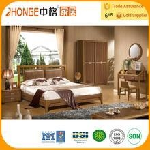 Cheap 6A006 solid teak wood cheap bedroom furniture set for sale