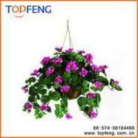 House of Silk Flowers Artificial Hanging Basket