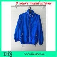Quality invisble hood waterproof jackets for sport girls women clothing wholesale