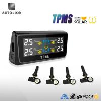 Tpms in Tire Gauges tire pressure Monitoring system solar charging with 4 Internal sensors