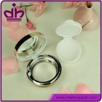 Quality BB cream case air cushion empty compact cosmetic case with mirror wholesale