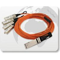 Quality 40G QSFP to 4x10G SFP+ Parallel Fan-Out Fiber Cable wholesale