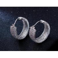 CZ setting made in China high fashion Copper jewelry